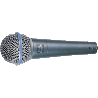 MICROFONO VOCAL SHURE BETA58A