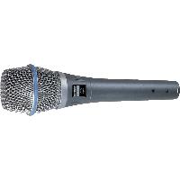 MICROFONO VOCAL DE CONDENSADOR SHURE BETA87A