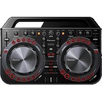 CONTROLADOR MIDI DJ PIONEER DDJ-WeGO2-K NEGRO