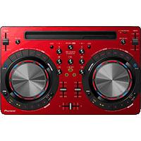 CONTROLADOR MIDI DJ PIONEER DDJ-WeGO3-R ROJO