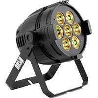 FOCO PAR LED RGBW DMX RUSH PAR 1