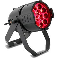 FOCO PAR LED RGBW DMX RUSH PAR 2 ZOOM