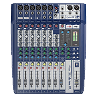 MEZCLADOR DIRECTO SOUNDCRAFT SIGNATURE 10