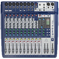 MEZCLADOR DIRECTO SOUNDCRAFT SIGNATURE 12