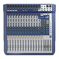 MEZCLADOR DIRECTO SOUNDCRAFT SIGNATURE 16