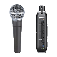 KIT MICRO VOCAL USB SHURE SM58-X2U
