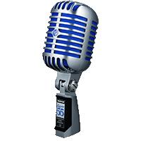 MICROFONO VOCAL CLASICO SHURE Super 55 DELUXE